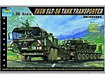 German Faun Elefant SLT56 Tank Transport -- Plastic Model Military Vehicle -- 1/35 Scale -- #203