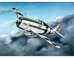 P-47D Razorback Fighter Aircraft -- Plastic Model Airplane Kit -- 1/32 Scale -- #2262