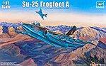 Sukhoi Su25 Frogfoot A Russian Fighter -- Plastic Model Airplane Kit -- 1/32 Scale -- #2276