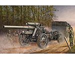 German 15cm s.FH 18 Field Howitzer -- Plastic Model Military Vehicle -- 1/35 Scale -- #2304