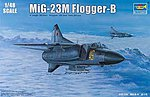 Mig-23M Flogger-B Russian Fighter Aircraft -- Plastic Model Airplane Kit -- 1/48 Scale -- #2853