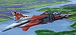 MIG-23MF Flogger-B Russian Fighter Aircraft -- Plastic Model Airplane Kit -- 1/48 Scale -- #2854