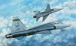 USAF T-38C Talon II Jet Trainer -- Plastic Model Airplane Kit -- 1/48 Scale -- #2876