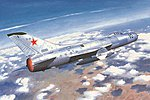 Soviet Su11 Fishpot Aircraft -- Plastic Model Airplane Kit -- 1/48 Scale -- #2898