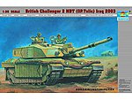 British Challenger II Main Battle Tank -- Plastic Model Military Kit -- 1/35 Scale -- #323