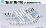 US Aircraft Weapons Set Smart Bombs -- Plastic Model Military Diorama -- 1/32 Scale -- #3305