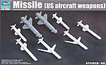 US Aircraft Weapons Set Missiles -- Plastic Model Military Diorama -- 1/32 Scale -- #3306