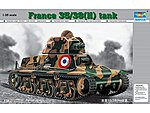 French 35/38(H) Tank with 37mm SA18 L/21 Gun -- Plastic Model Military Vehicle -- 1/35 Scale -- #351