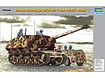 German Panzerjaeger 39(H) with 7.5cm Pak 40/3 Marder I -- Plastic Model Kit -- 1/35 Scale -- #354