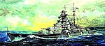 German Bismarck Battleship 1941 -- Plastic Model Military Ship Kit -- 1/200 Scale -- #3702