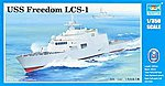 USS Freedom LCS-1 Lottoral Combat Ship -- Plastic Model Military Ship -- 1/350 Scale -- #4549