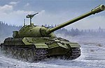 Soviet IS-7 Heavy Tank -- Plastic Model Military Vehicle Kit -- 1/35 Scale -- #5586