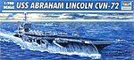 USS Abraham Lincoln CVN72 Aircraft Carrier -- Plastic Model Military Ship -- 1/700 Scale -- #5732