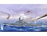 USS South Dakota BB57 Battleship 1945 -- Plastic Model Military Ship -- 1/700 Scale -- #5760