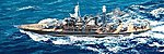 USS West Virginia BB48 Battleship 1941 -- Plastic Model Military Ship -- 1/700 Scale -- #5771