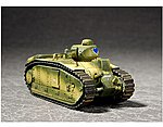 French Char B1 Tank -- Plastic Model Military Vehicle -- 1/72 Scale -- #7263
