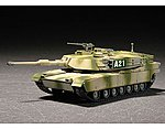 M1A2 Abrams Main Battle Tank -- Plastic Model Military Vehicle -- 1/72 Scale -- #7279