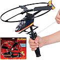 Sky High Zoom Helicopter with Rip-Cord Action Launcher -- Flying Toy -- #12657