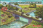 Dzerzhinets Armored Train -- Plastic Model Military Vehicle Kit -- 1/72 Scale -- #637