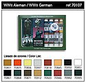 17ml Bottle WWII German Model Color Paint Set (16 Colors) -- Hobby and Model Paint Set -- #70107