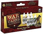 Soviet Army WWII War Games Paint Set (6 Colors) -- Hobby and Model Paint Set -- #70159