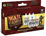 US Army WWII War Games Paint Set (6 Colors) -- Hobby and Model Paint Set -- #70160