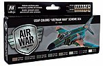 17ml Bottle USAF Vietnam War SEA (South East Asia) Model Air Paint Set (8 Colors)