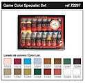 Specialist Game Color Paint Set (16 Colors) -- Hobby and Model Paint Set -- #72297