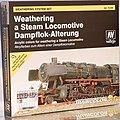 Weathering Steam Locomotive Model Color Paint Set (9 Colors) -- Hobby and Model Paint Set -- #73099