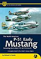 The North American Early P51 Mustang -- Authentic Scale Model Airplane Book -- #am6