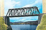 Large Truss Bridge Kit -- N Scale Model Railroad Bridge -- #47801