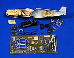 Bf109 Super Detail Set #1 -- Plastic Model Aircraft Accessory -- 1/48 Scale -- #0384