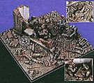 Last Stand Diorama Base -- Resin Military Diorama Kit -- 1/35 Scale -- #1494