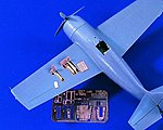 F4F4 Wildcat Detail Set for TAM -- Plastic Model Aircraft Accessory -- 1/48 Scale -- #1617