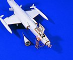 F104 Starfighter Detail Set for HSG -- Plastic Model Aircraft Accessory -- 1/48 Scale -- #1637