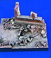 WWII US Infantry Trapped -- Resin Military Diorama Kit -- 1/35 Scale -- #1663