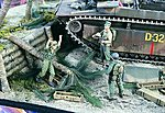 USMC (2) & Japanese POW -- Resin Model Military Figure Kit -- 1/35 Scale -- #1753