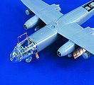 Ar234B2 Blitz Detail Set for HSG -- Plastic Model Aircraft Accessory -- 1/48 Scale -- #1892