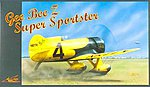 Gee Bee Z Super Sportster -- Plastic Model Airplane Kit -- 1/32 Scale -- #32526