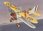 F9C Sparrowhawk -- Plastic Model Airplane Kit -- 1/32 Scale -- #32590