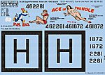 B29A Ace in the Hole, Fire Ball Yokota Japan 1951 -- Decal -- 1/48 Scale -- #148076