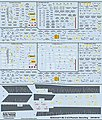 F4B/C/D Phantom Stenciling Grey/White, Camouflage Scheme Data & Markings -- Decal -- 1/48 -- #148118