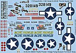 B25J The Ink Squirts, Pacific Prowler -- Plastic Model Aircraft Decal -- 1/72 Scale -- #172087