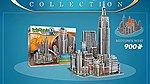 New York Collection- Midtown West Foam Puzzle (900pcs) -- 3D Jigsaw Puzzle -- #2010