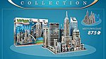 New York Collection- Midtown East Foam Puzzle (875pcs) -- 3D Jigsaw Puzzle -- #2011