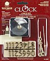 3pc Clock Kit 1/4'' -- Clock Making Kit -- #23856