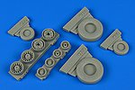 1/48 F14A Tomcat Weighted Wheels for TAM