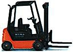 Still R 70-16 Forklift -- HO Scale Model Railroad Vehicle -- #66401