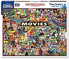 Movies (Famous Stars & Iconic Memorabilia) Collage Puzzle (1000pc)