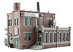 Clyde & Dale's Barrel Factory -- N Scale Model Railroad Building -- #br4924